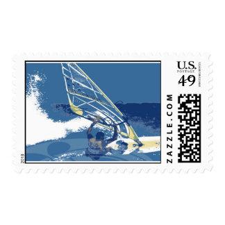 Wind Warrior Stamp