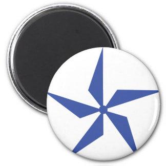 wind wheel icon magnet
