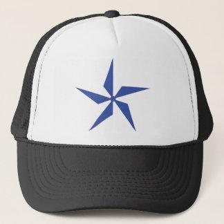 wind wheel icon trucker hat