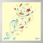wind, WIN   D, by sjw Poster