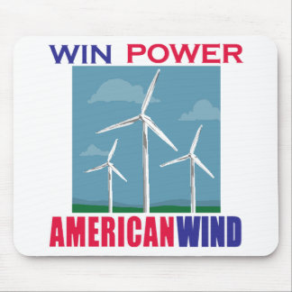 Wind Wins for the USA Mouse Pad