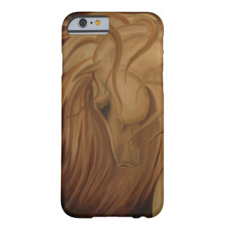 Windblown Classical Horse Barely There iPhone 6 Case