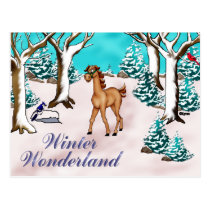 Winder Wonderland Postcard