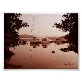 Windermere At Dawn Posters