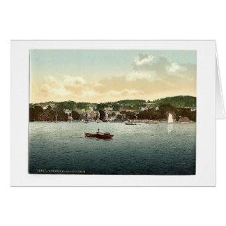 Windermere, Bowness, de la encina del abedul, lago Tarjetas
