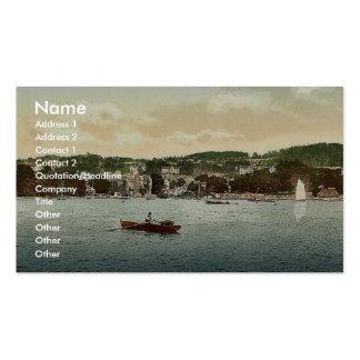 Windermere, Bowness, de la encina del abedul, lago Plantillas De Tarjetas Personales