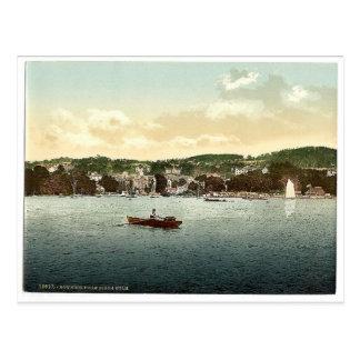 Windermere, Bowness, de la encina del abedul, lago Postal