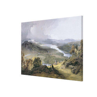 Windermere: from Orrest Head Canvas Print