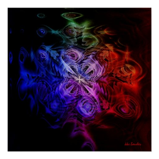 Windflower gótico póster