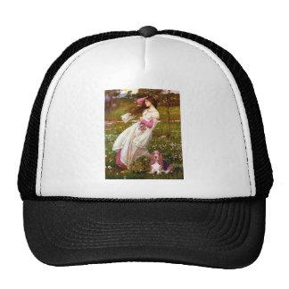Windflowers - Basset Hound #1 Trucker Hat