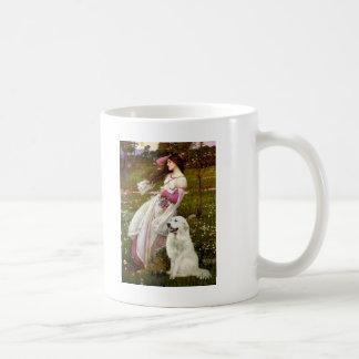 Windflowers - Great Pryenees 1 Coffee Mug