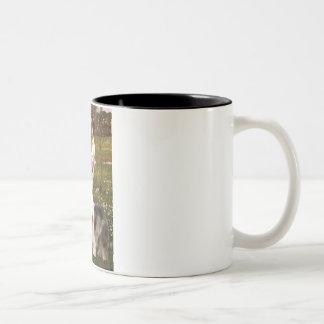 Windflowers - Old English 12 Coffee Mug