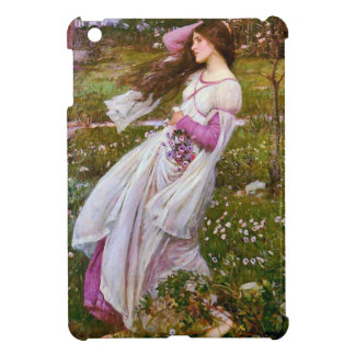 Windflowers Romantic Fine Art by Waterhouse Cover For The iPad Mini