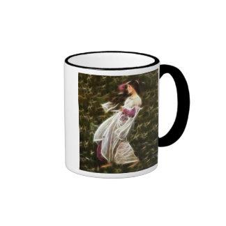 Windflowers Waterhouse Fractal Painting Coffee Mug