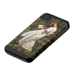 Windflowers Waterhouse Fractal Painting iPhone 4 Cover