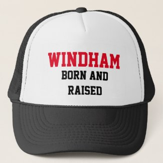 Windham Born and Raised Trucker Hat