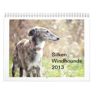 Windhounds de seda 2013 calendarios de pared
