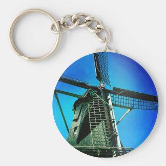 Windill in Amsterdam Key Chains