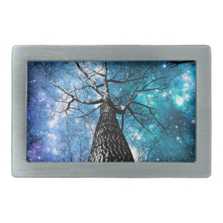 Winding Branches Falling Stars Belt Buckle