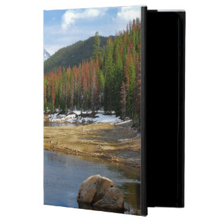 Winding Colorado River With Mountains and Pines Cover For iPad Air