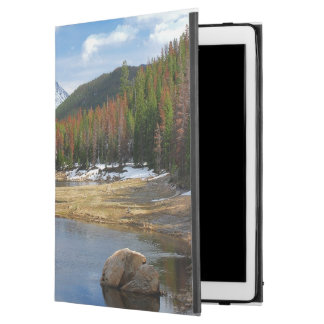 Winding Colorado River With Mountains and Pines iPad Pro Case