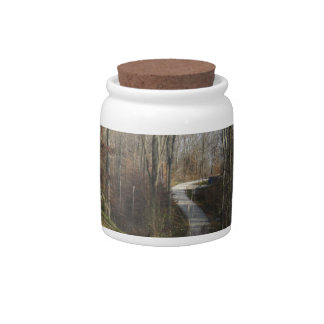 Winding Country Lane Candy Jars