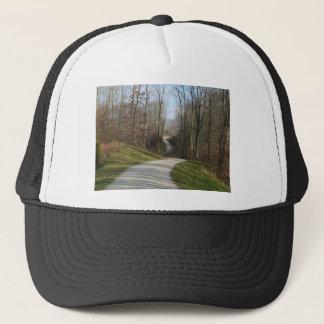 Winding Country Lane Trucker Hat