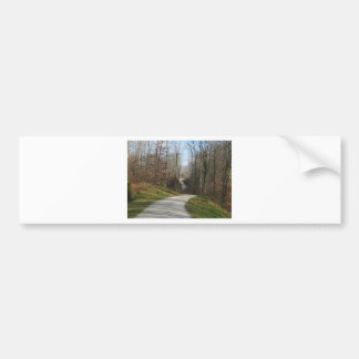 Winding Country Road 2 Bumper Sticker
