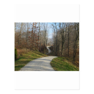 Winding Country Road 2 Postcard