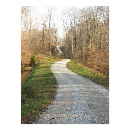 Winding Country Road Drawing Winding Country Road Post