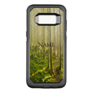 Winding forest path in golden light and mist name OtterBox commuter samsung galaxy s8 case