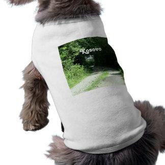 Winding Kosovo Road Doggie Tshirt