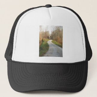 Winding Midwestern Country Road Trucker Hat