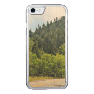 Winding Mountain Road Carved iPhone 8/7 Case