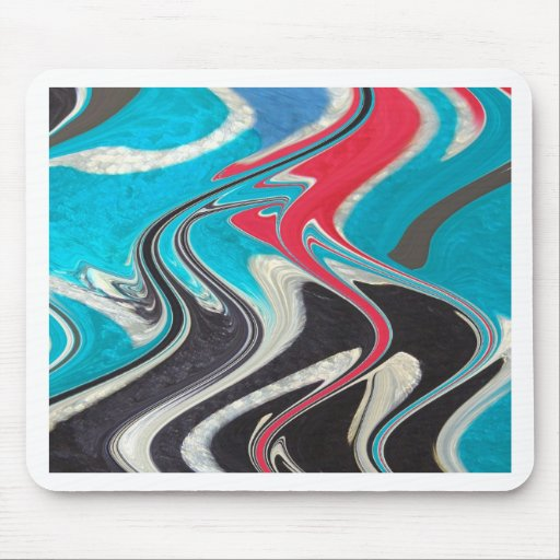 winding roads mouse pad