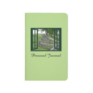 Winding Split Rail Fence Personal Journal