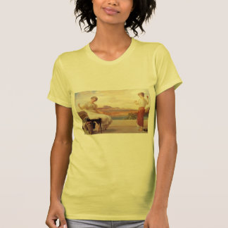 Winding the Skein by Frederic Leighton Tshirts