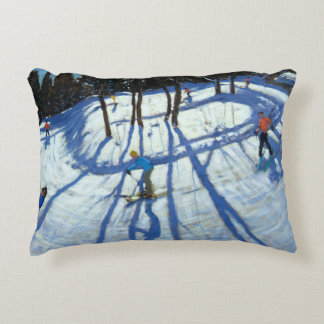 Winding Trail Morzine Decorative Pillow