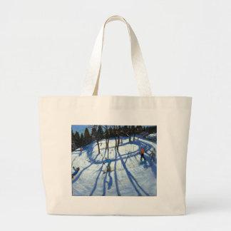 Winding Trail Morzine Large Tote Bag