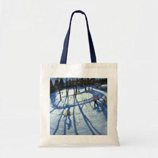 Winding Trail Morzine Tote Bag