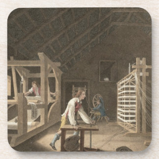 Winding, Warping with a New Improved Warping Mill Beverage Coaster