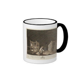 Winding, Warping with a New Improved Warping Mill Mugs