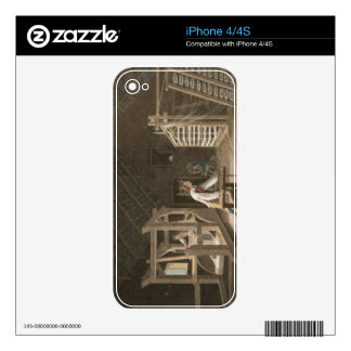 Winding, Warping with a New Improved Warping Mill Skin For iPhone 4
