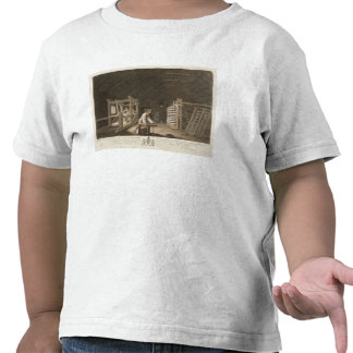 Winding, Warping with a New Improved Warping Mill T-shirts