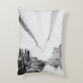 Winding Wintry Road Accent Pillow