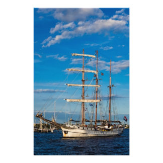Windjammer on the Hanseatic Sail in Rostock Stationery Design