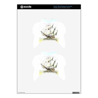 Windjammer Xbox 360 Controller Skin