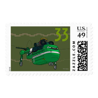 Windlifter Character Art Postage Stamps