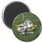 Windlifter Graphic 2 Inch Round Magnet