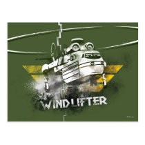 Windlifter Graphic Postcard